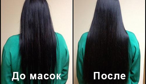 Маска восстановления густоты волос