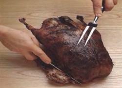Как жарить и резать утку и гуся