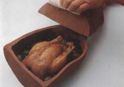 Как запечь курицу в глиняном сосуде