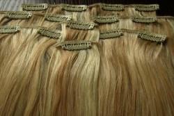 Волосы на заколках – прекрасная альтернатива наращиванию