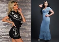 Вязаное платье: с чем носить?