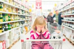 Как ходить по магазинам с детьми с пониженной самооценкой